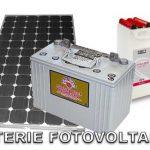 Batterie Fotovoltaiche Costi e Funzionamento